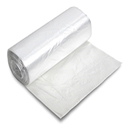 Chef Designed CL-2729 High-Density Mini-Roll Natural Garbage Bags - 24 x 24 - 7-10 Gallon Capacity - 6 Micron - 1000 per case - Perforated Roll