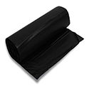 Chef Designed CL-2750 High-Density Mini-Roll Black Trash Bags - 30 x 37 - 20-30 Gallon Capacity - 12 Micron - 500 per case - Perforated Roll