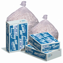 Pitt Plastics P6555C Vu-Thru Clear Trash Bags - 38 x 58 - 60 Gallon Capacity - Super Heavy Duty - 1.8 Mil - 50 per case - Flat Pack